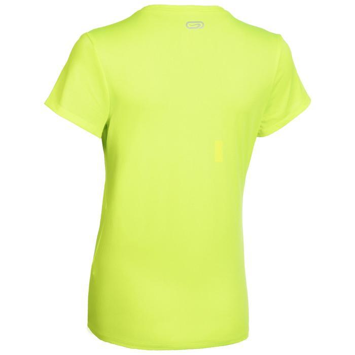 Tee Shirt Athlétisme femme club personnalisable jaune fluo