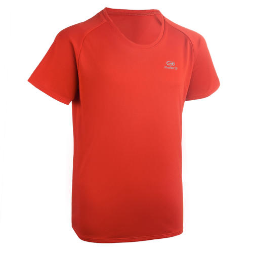T-shirt running enfant rouge