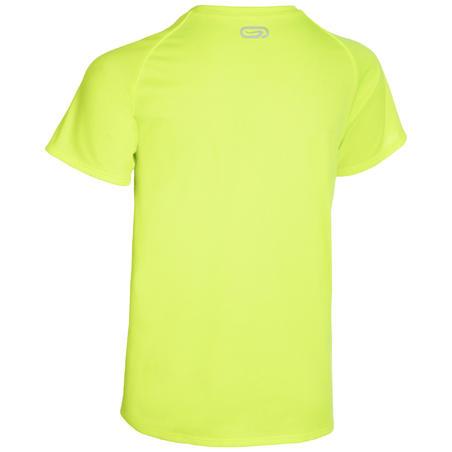 Kids' Athletics Club Personalisable T-Shirt - Neon Yellow