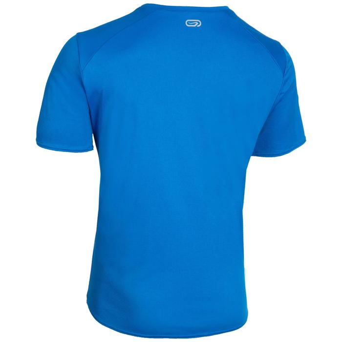 Atletiek-T-shirt heren club personaliseerbaar blauw
