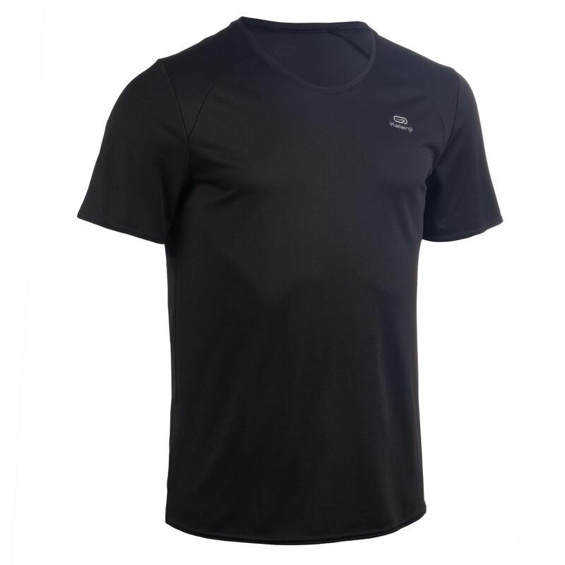Pánské tričko na atletiku černé
