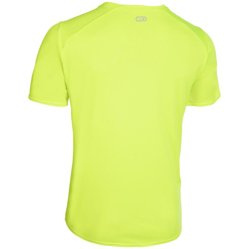 Tee shirt Athlétisme Homme club personnalisable jaune fluo