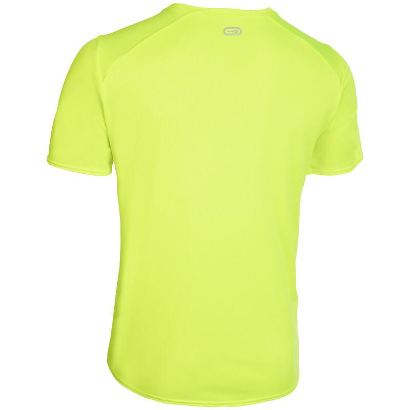 Pánské tričko na atletiku žluté
