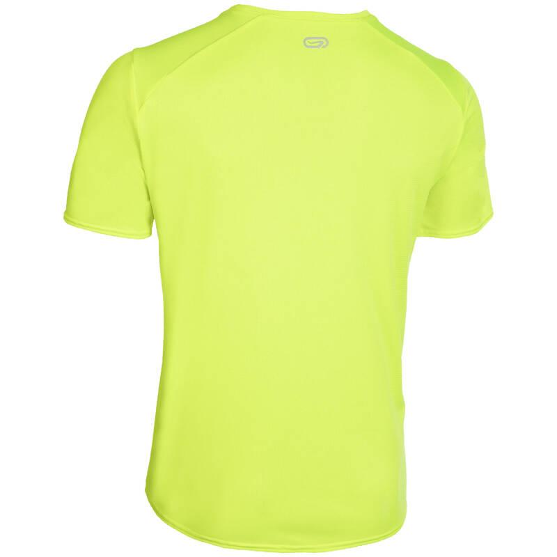 KLUBOVÉ OBLEČENÍ Běh - TRIČKO NA ATLETIKU ŽLUTÉ KALENJI - Běžecké oblečení