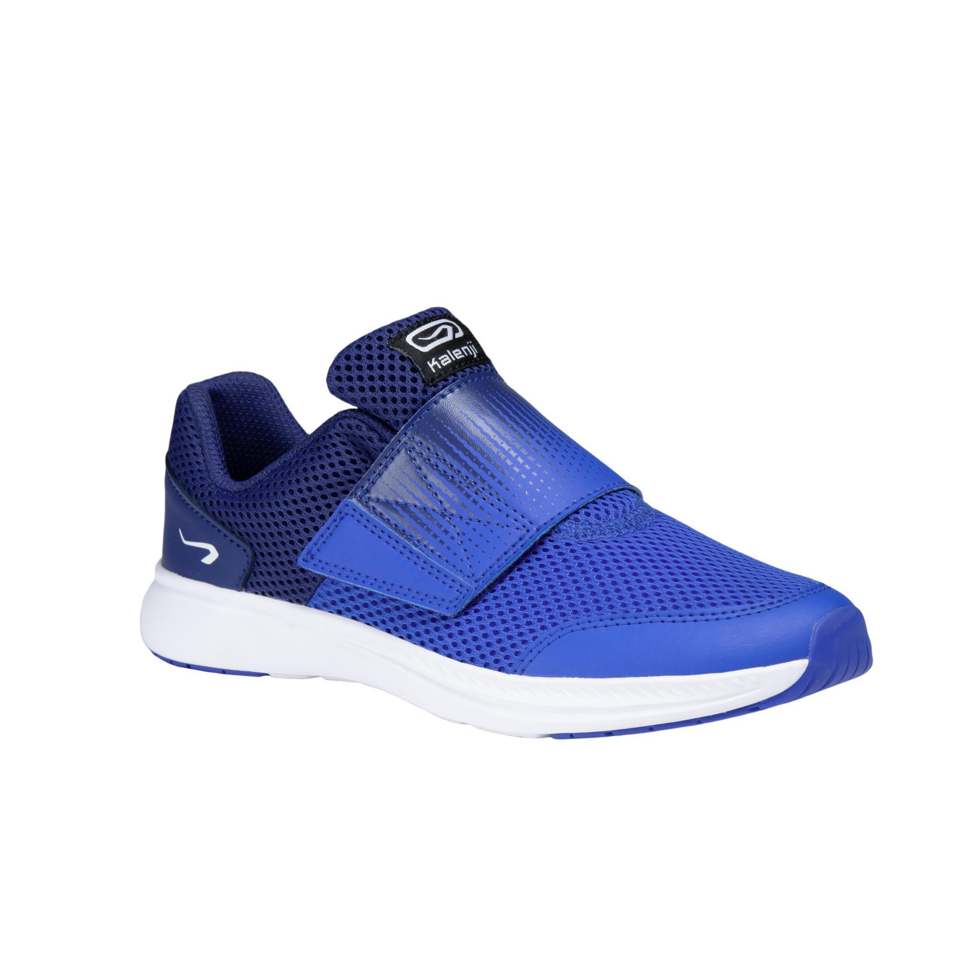 Laufschuhe Leichtathletik AT Easy Kinder blau