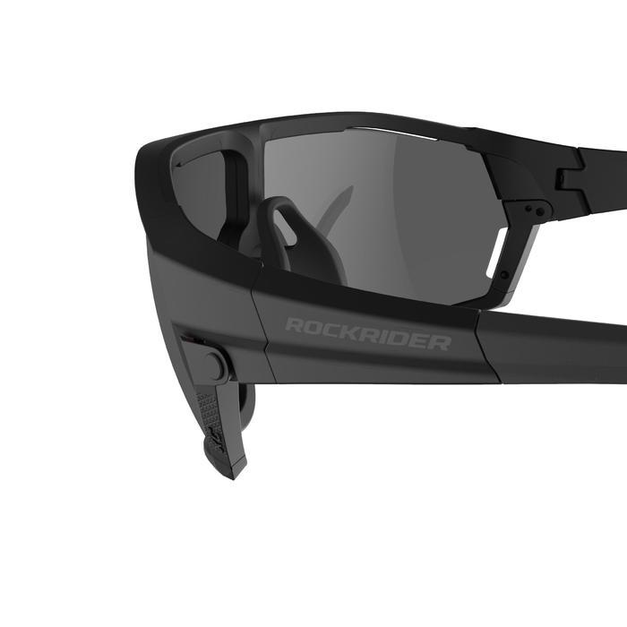 MTB bril XC RACE zwart met 2 paar dampwerende glazen categorie 0 en 3