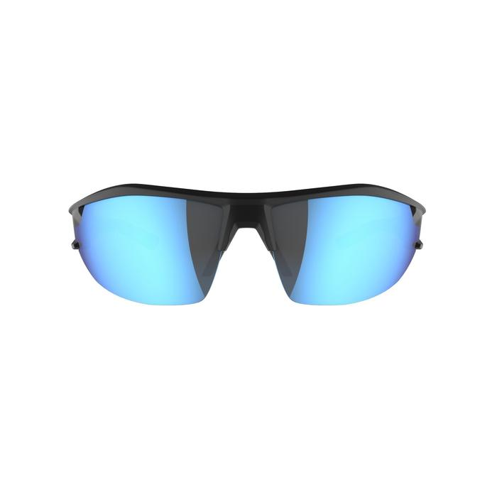 Fietsbril voor volwassenen XC 100 blauw pack met 4 verwisselbare glazen