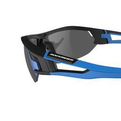Lunettes de VTT adulte XC 100 bleu pack de 4 verres interchangeables