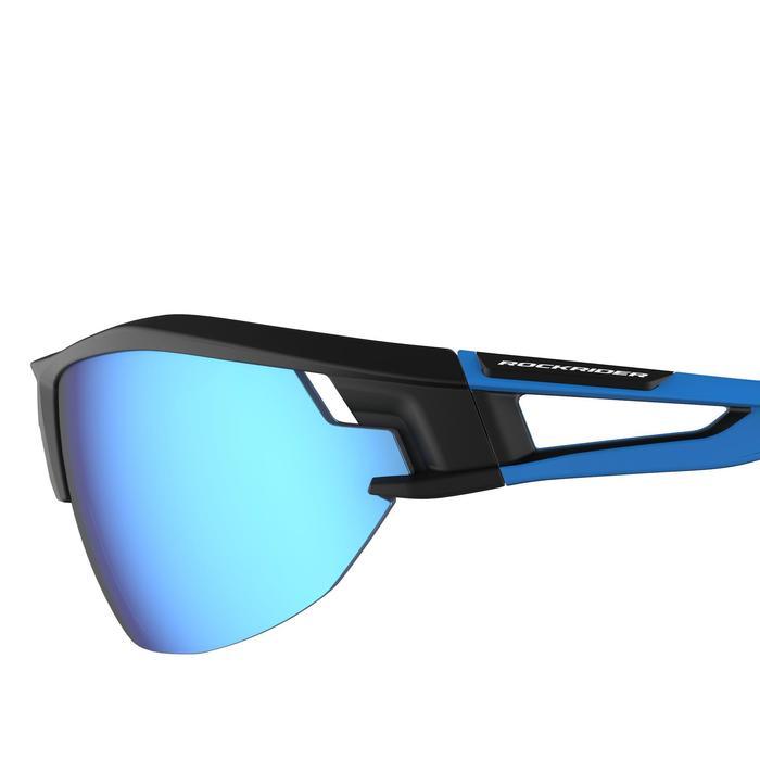 MTB-Sonnenbrille XC 100 4 austauschbare Gläser blau