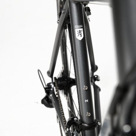 Triban RC 120 Abyss Cycle Road Bike - Abu-abu