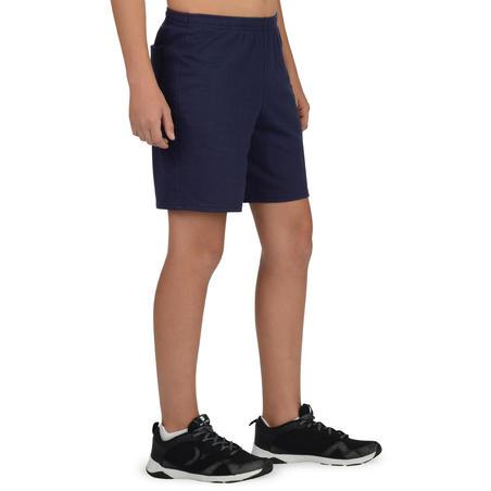 100 Boys' Gym Shorts - Navy
