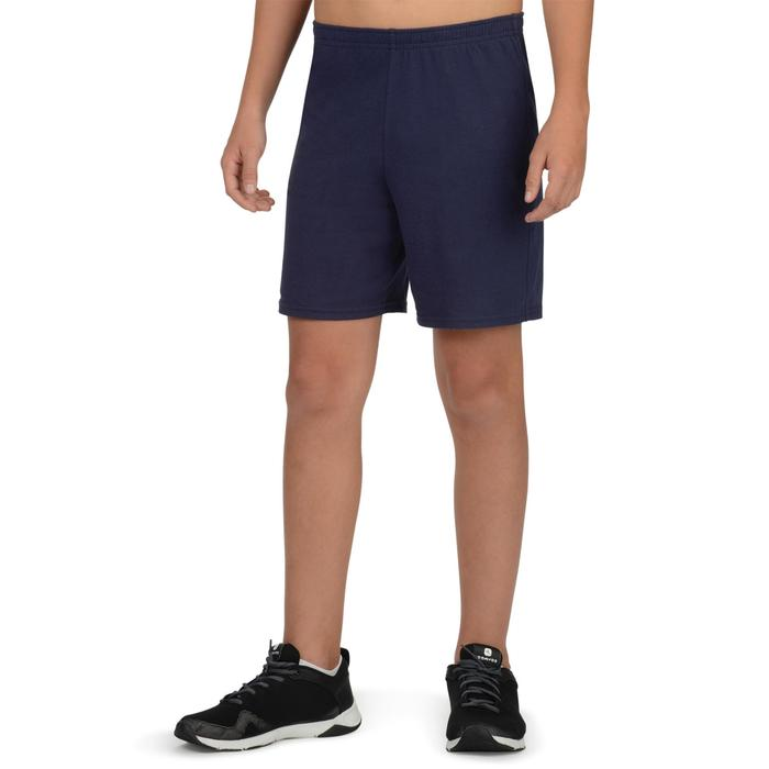 Boys' Gym Shorts 100 - Navy