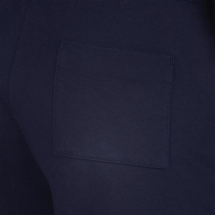男童健身短褲100 - 海軍藍