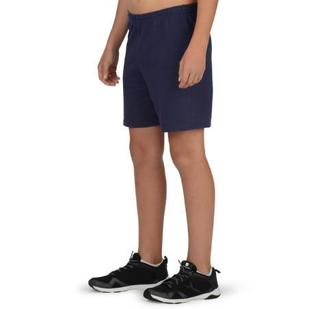 Short 100 niño GIMNASIA JÚNIOR azul marino