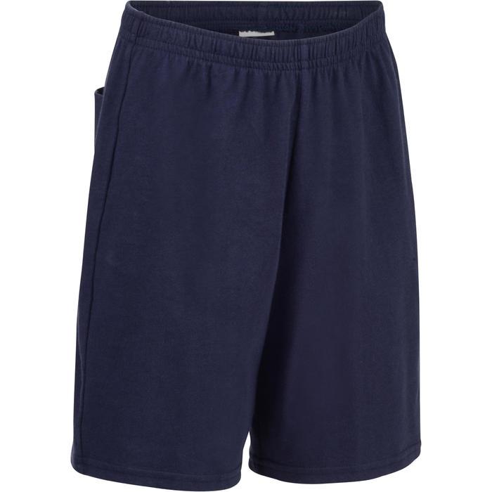 Short 100 jongens GYM KINDEREN marineblauw