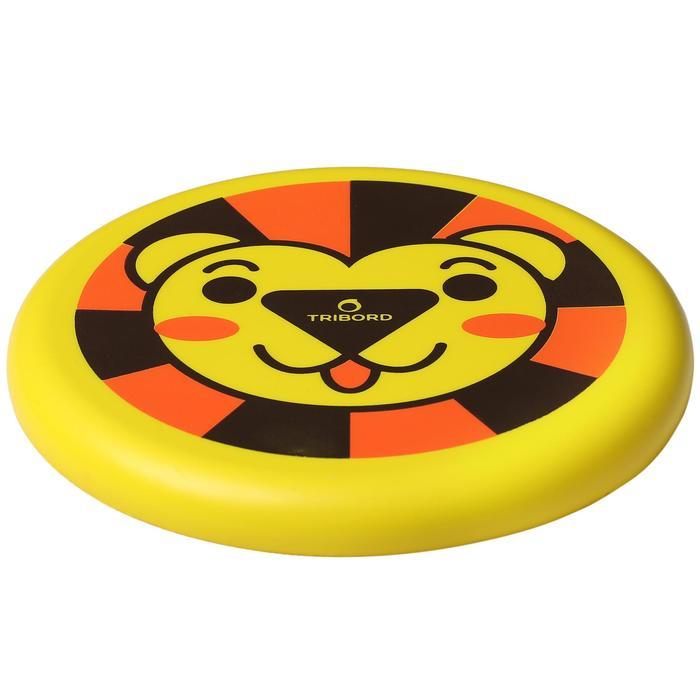 飛盤Dsoft-黃色/獅子款