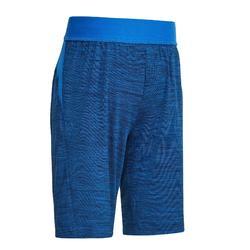 嬰幼兒體能活動短褲S500 - 海軍藍