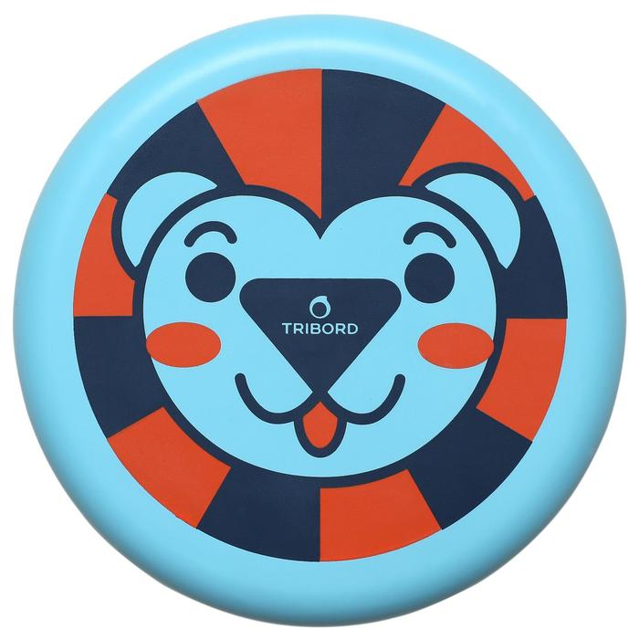 Dsoft LIon Flying Disc blue