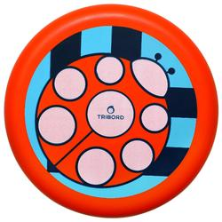 Dsoft Ladybug Flying Disc red