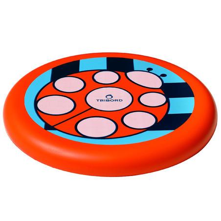 Dsoft Ladybug Flying Disc red