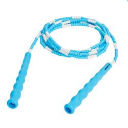 Comba Cuerda Para Saltar Gimnasia Domyos Freestyle Plástico Niño Azul/Blanco