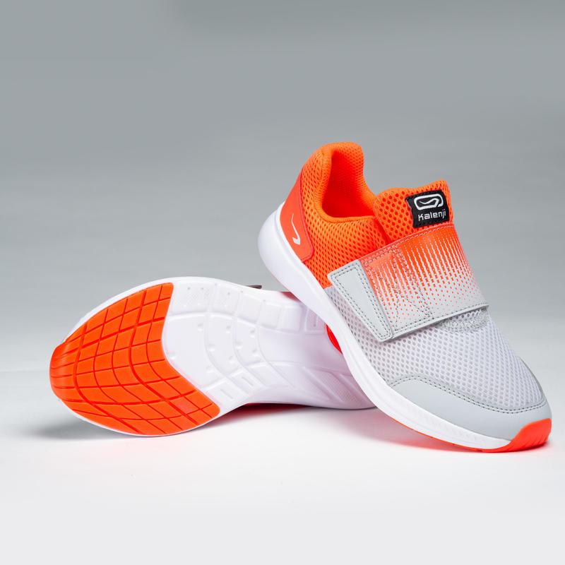 Zapatillas de atletismo infantil AT Easy Rojo gris