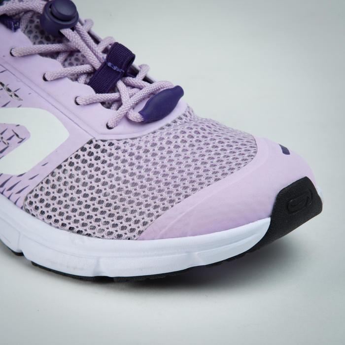 兒童款田徑運動鞋AT 300 BREATH - 淡紫色