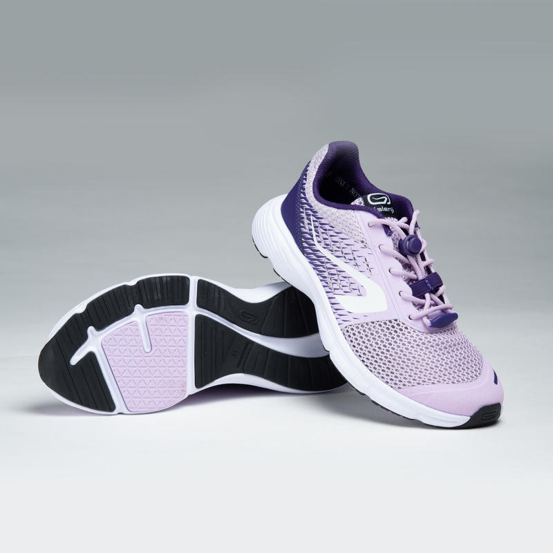 AT BREATH CHILDREN'S ATHLETICS SHOES MAUVE PURPLE