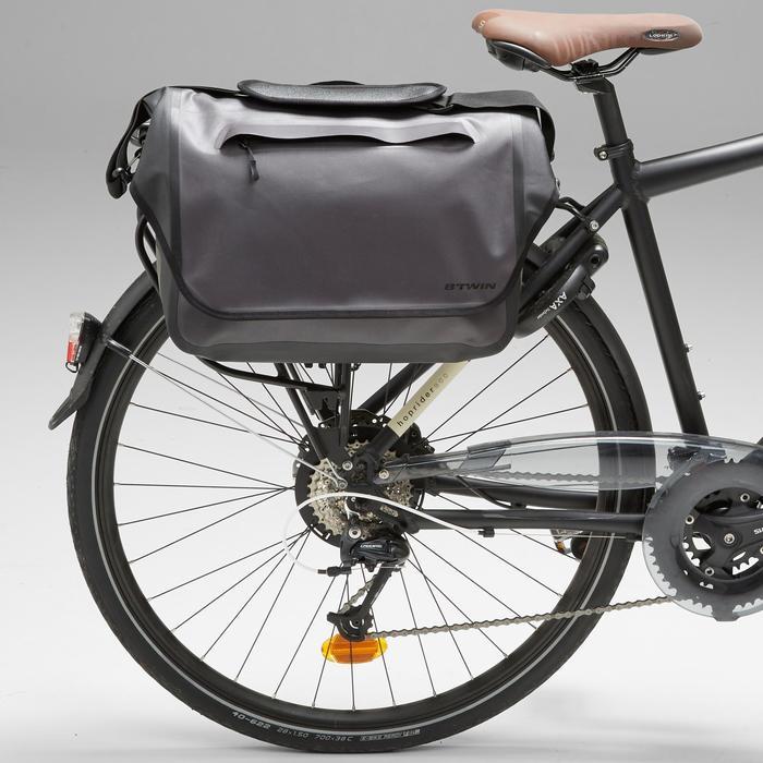Fahrradtasche Businessbag 900 15Liter grau