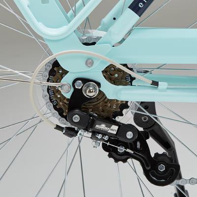 Elops 520 Low Frame City Bike - Mint