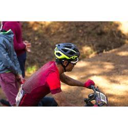 MTB helm XC fluogeel fietshelm