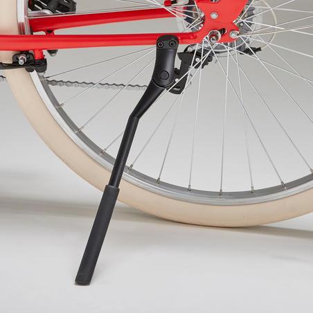 Elops 520 Low Frame City Bike - Red