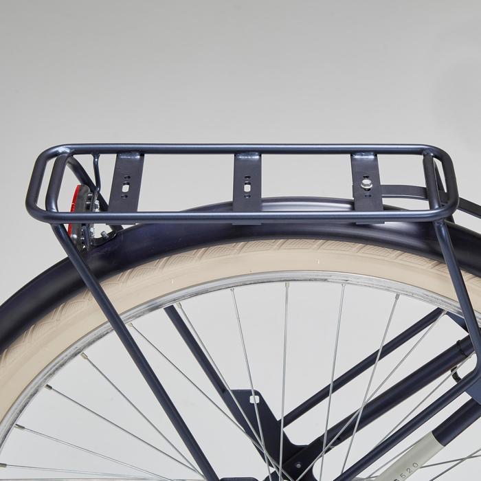 Stadsfiets Elops 520 laag frame blauw