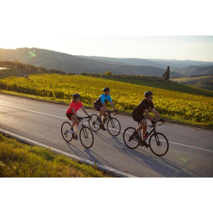 Fahrradschuhe Rennrad RC 500 SPD BLAU/NAVY