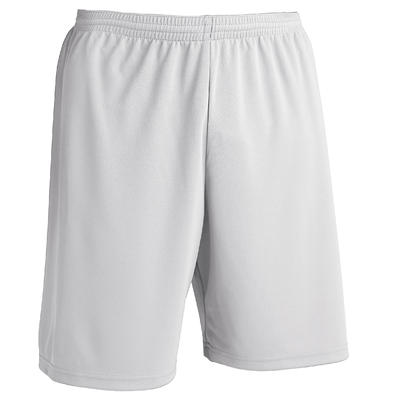 Pantaloneta de fútbol Kipsta F100 adulto blanco