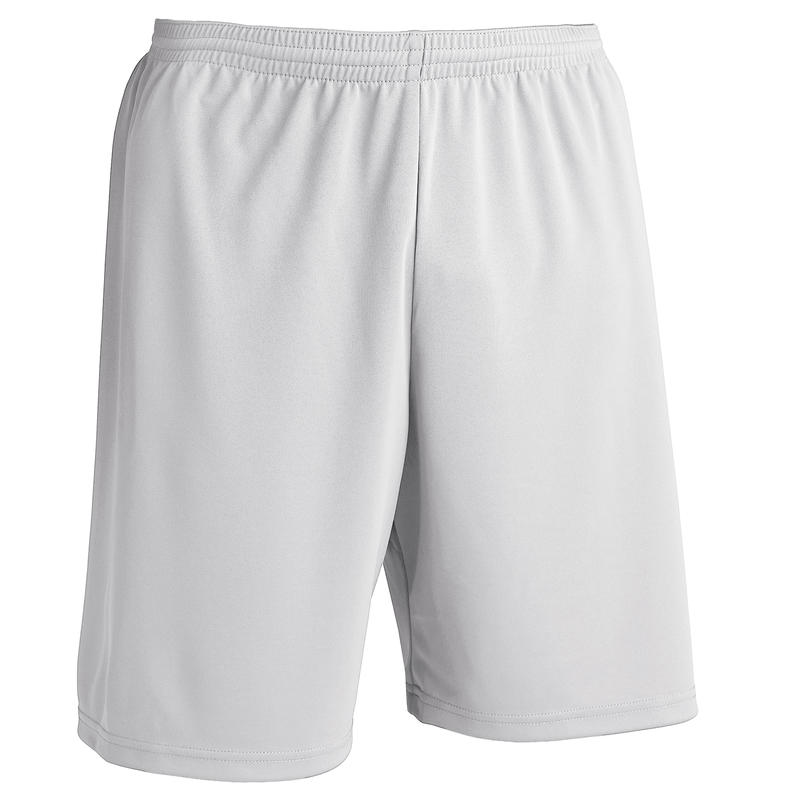 Short de fútbol adulto F100 blanco