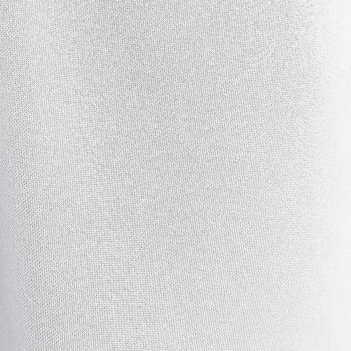 Pantalón corto de fútbol adulto F100 blanco