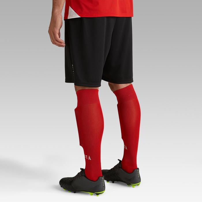 Pantalón corto de Fútbol adulto Kipsta F100 negro