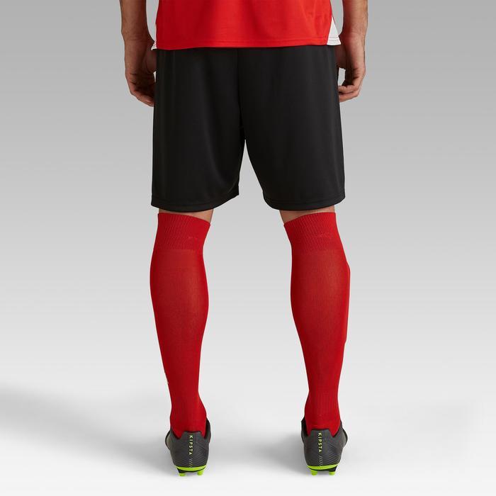 Voetbalshort voor volwassenen F100 zwart