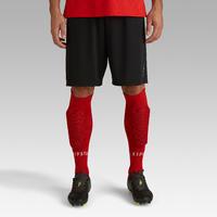 Short de soccer adulte F100 noir