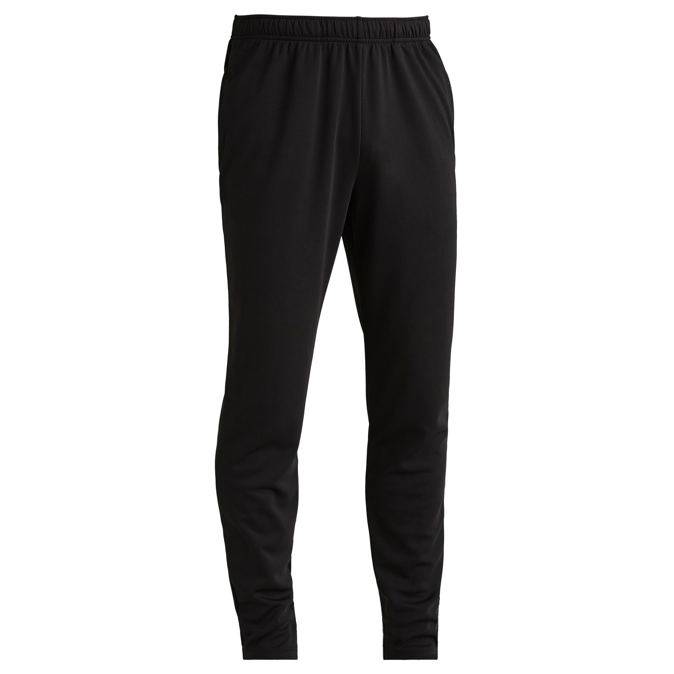 T100 Adult Soccer Training Bottoms - Black