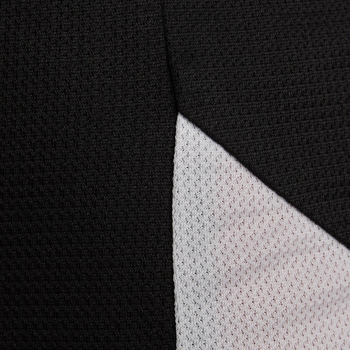 Camiseta Fútbol adulto Kipsta F100 blanco negro