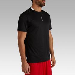 Voetbalshirt voor volwassenen F100 zwart