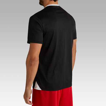 F100 Adult Football Shirt - Black
