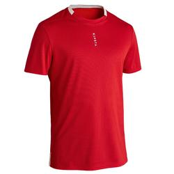 Camiseta de Fútbol Kipsta F100 adulto rojo