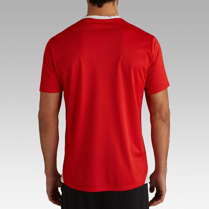 Maillot de football éco-conçu adulte F100 rouge
