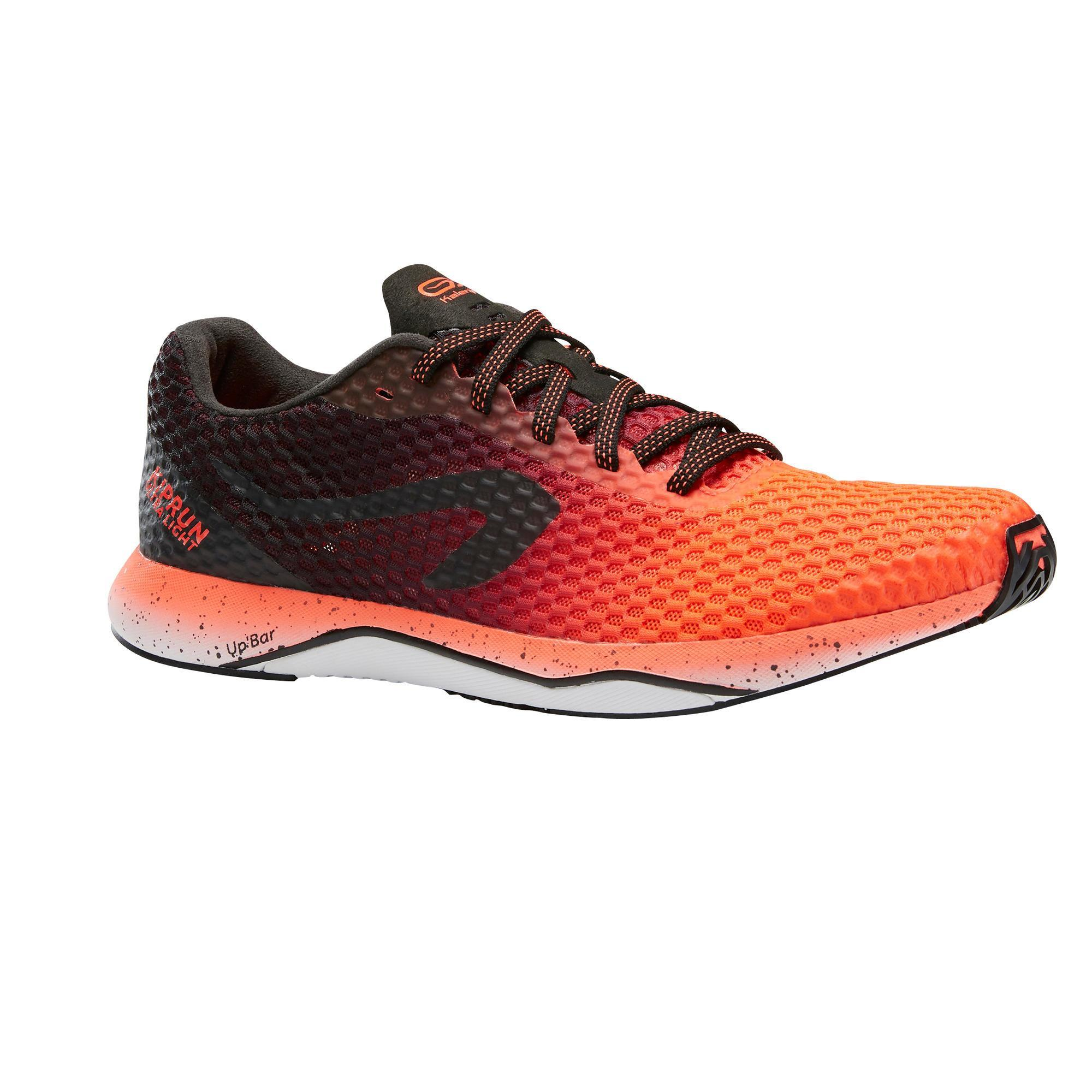 bons plans 2017 nouveau style Chaussures 2018 Kiprun Race Ultralight Men's Running Shoes Black/Red
