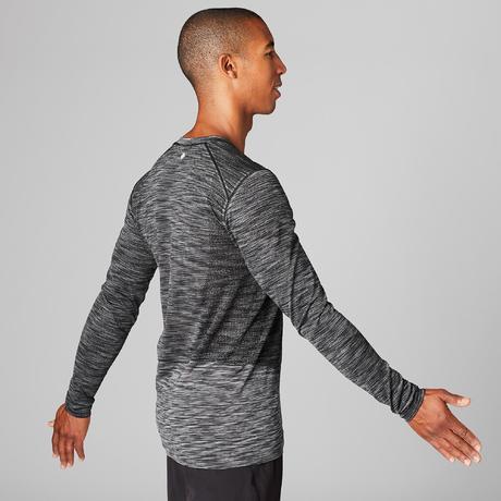 fff1832b7 Koszulka do jogi długi rękaw Yoga męska | Domyos by Decathlon