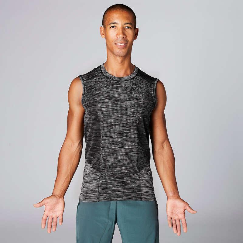 MAN YOGA APPAREL Clothing - Yoga Tank Top DOMYOS - By Sport