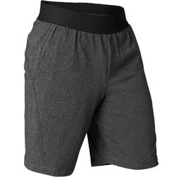 Organic Cotton Gentle Yoga Shorts - Black